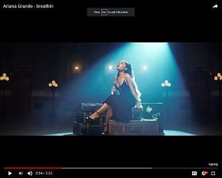 Ariana Grande Releases New Music Video