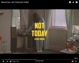 """Alessia Cara Shares """"Not Today"""""""