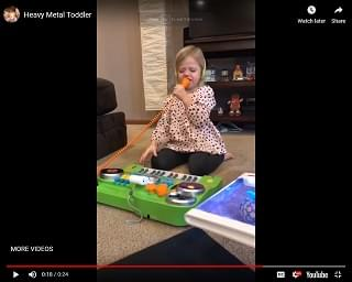 Heavy Metal Toddler