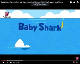 """That Earworm """"Baby Shark"""" Is On The Pop Charts"""