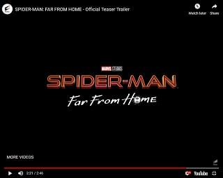 First Trailer For New Spider-Man Movie Released