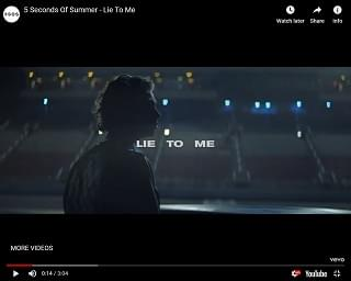 """5 Seconds Of Summer Drop Video For """"Lie To Me"""""""