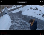 Viral Video: Guy Tries – And Fails – To Properly Deal With An Icy Driveway