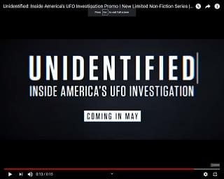 New Series About UFOs Coming To History Channel