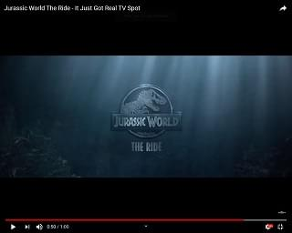 "New ""Jurassic World"" Ride"