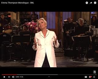 """SNL"" Emma Thompson Highlights"