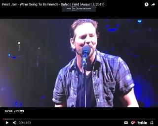 Pearl Jam Rocks Seattle For The First Time In Five Years
