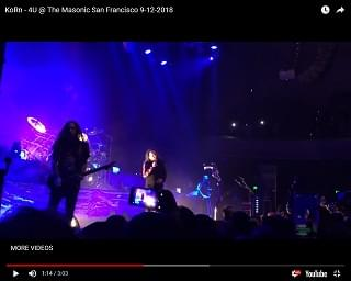 Korn Performs For The First Time Since Death Of Frontman's Wife