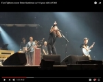 Foo Fighters Bring Boy Up On Stage