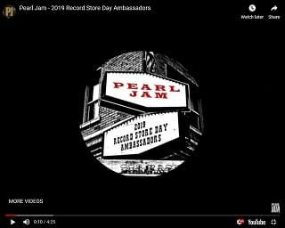 Pearl Jam Named Official Ambassadors Of Record Store Day