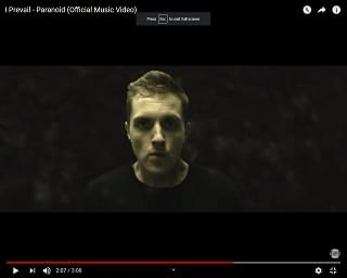 """Music Video for I Prevail's """"Paranoid"""""""