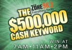 $500,000 Cash Keyword