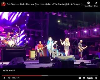 Foo Fighters Cover Queen With The Struts Frontman