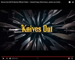 "Star-Studded Trailer For ""Knives Out"" Drops"