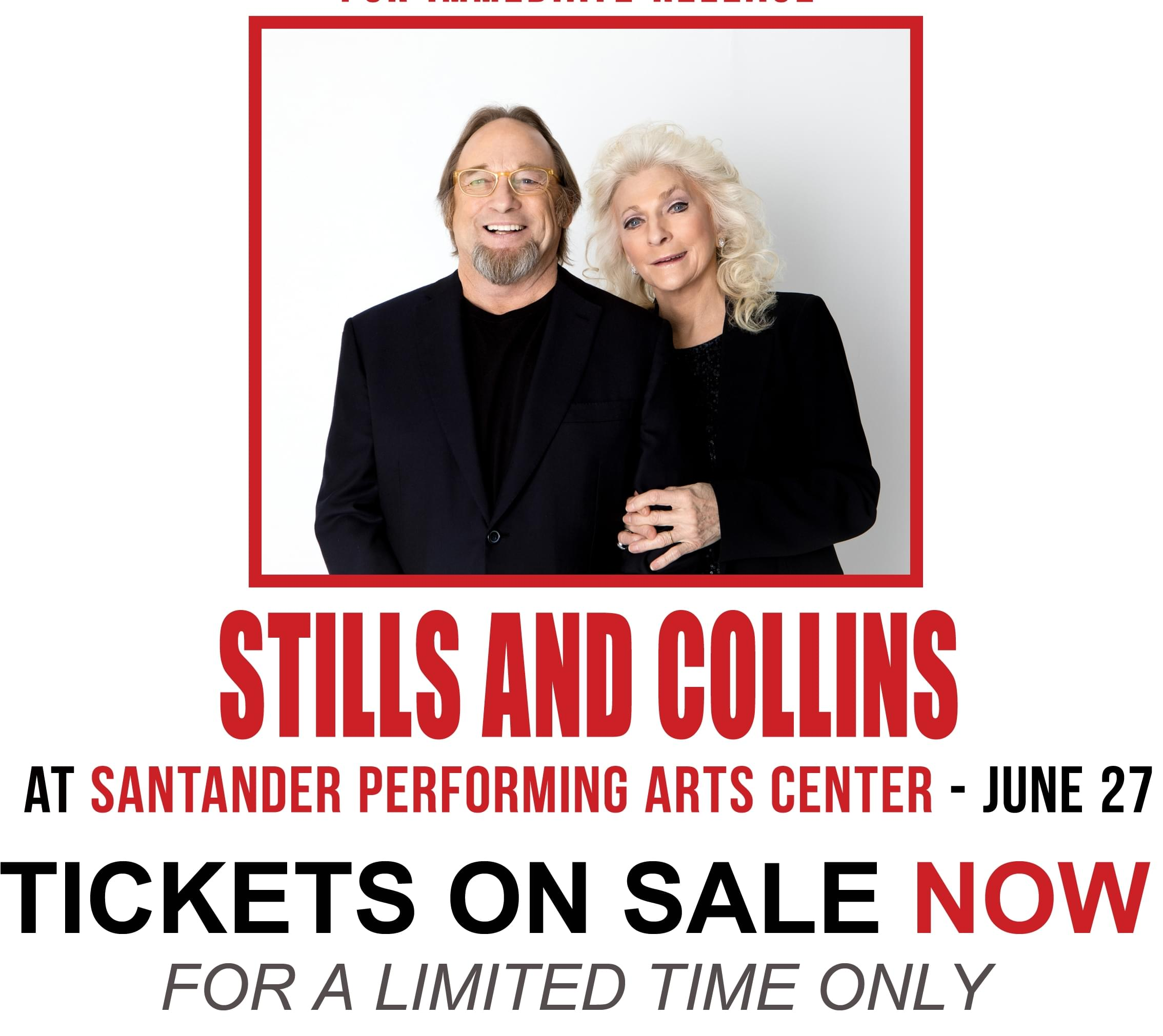 Stephen Stills & Judy Collins BOGO!