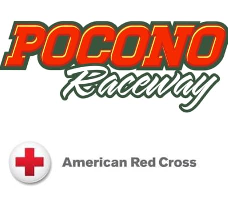 Pocono Raceway American Red Cross Blood Drive And 'Ride for the Red'