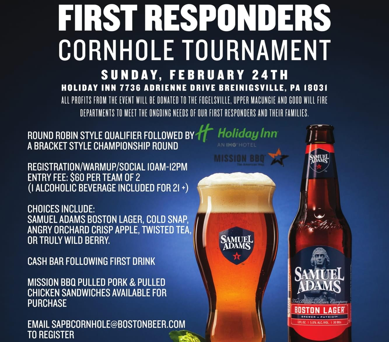 First Responders Cornhole Tournament
