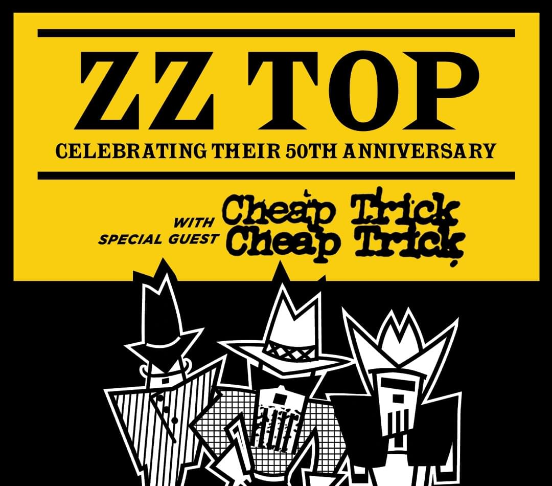 ZZ Top and Cheap Trick!