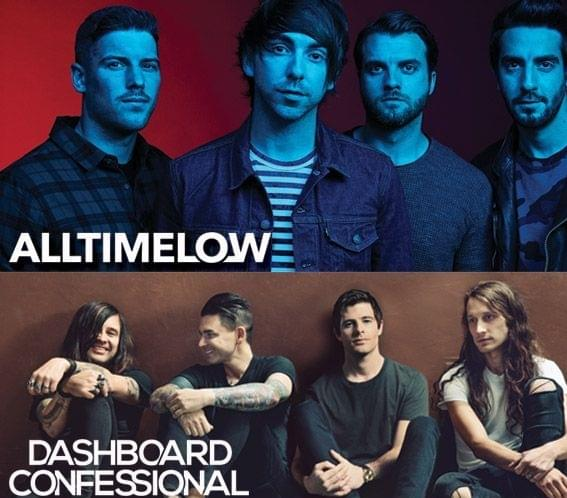 Win All Time Low and Dashboard Confessional Tickets!