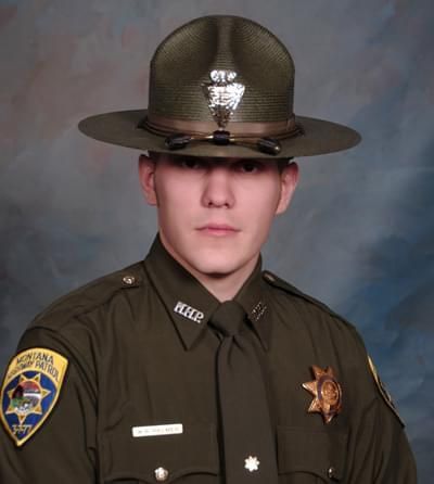 Trooper Palmer Regains Consciousness; Condition Is Stable