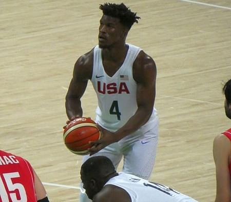 Jimmy Butler makes his much anticipated debut