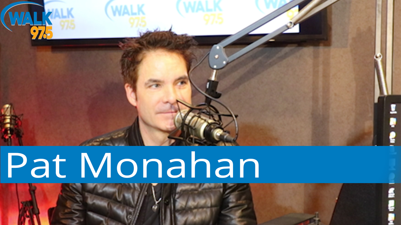 Pat Monahan of Train sits down with Christina Kay live at The Studio