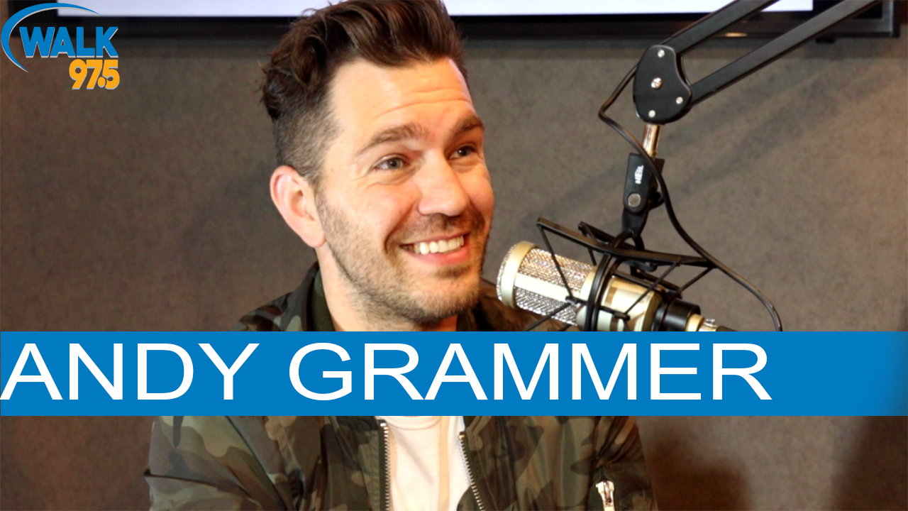 Andy Grammer talks with Christina Kay at The Studio