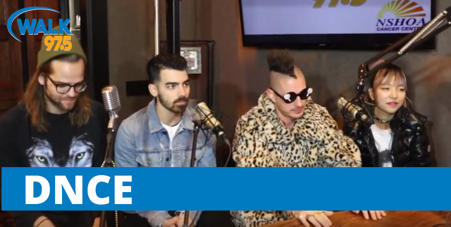 DNCE LIVE in The Studio with Christina Kay LIVE