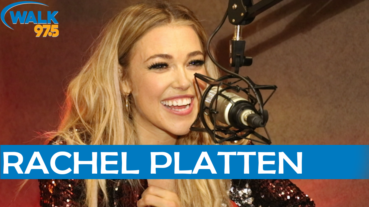 Rachel Platten sits down with Tommy Conway in The Studio!