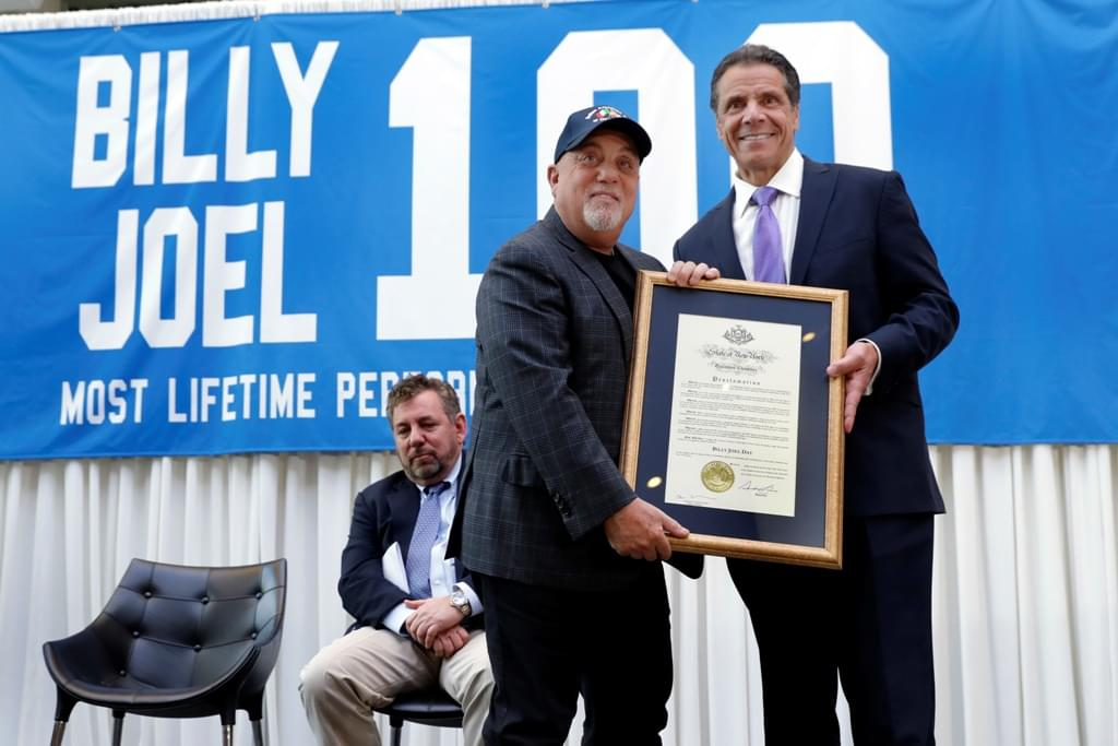 WATCH: Bruce Joins Billy on Stage at 100th Show!