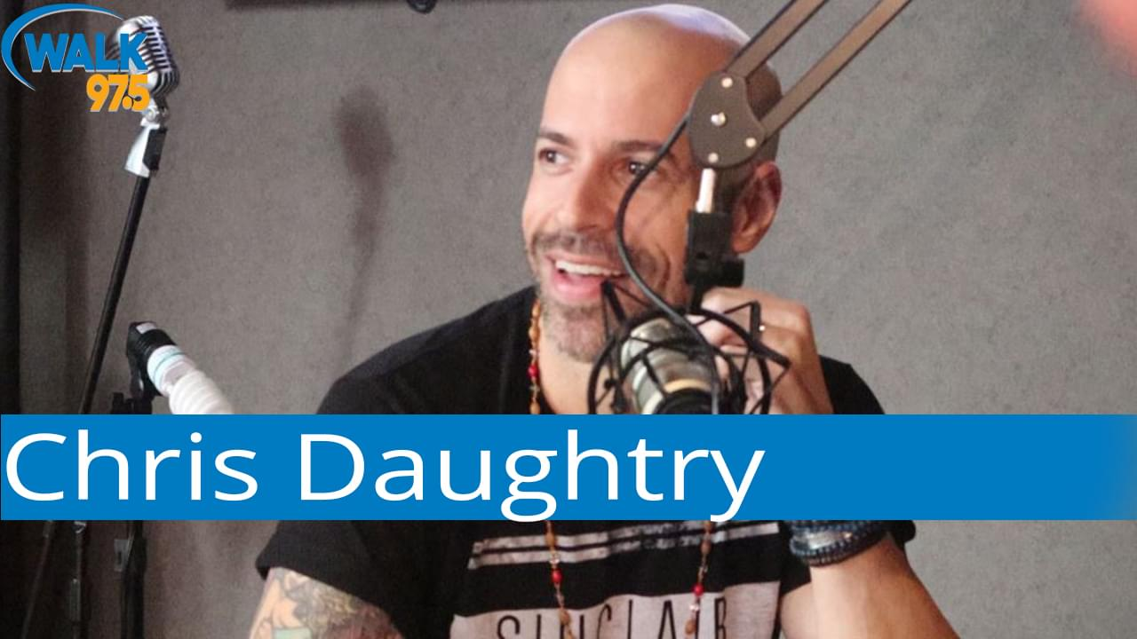 Chris Daughtry sits with Christina in The Studio!