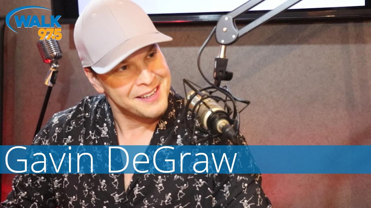 Gavin DeGraw sits down with Christina Kay in The Studio
