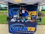 WALK 97.5 at TFCU Car & Corvette Show