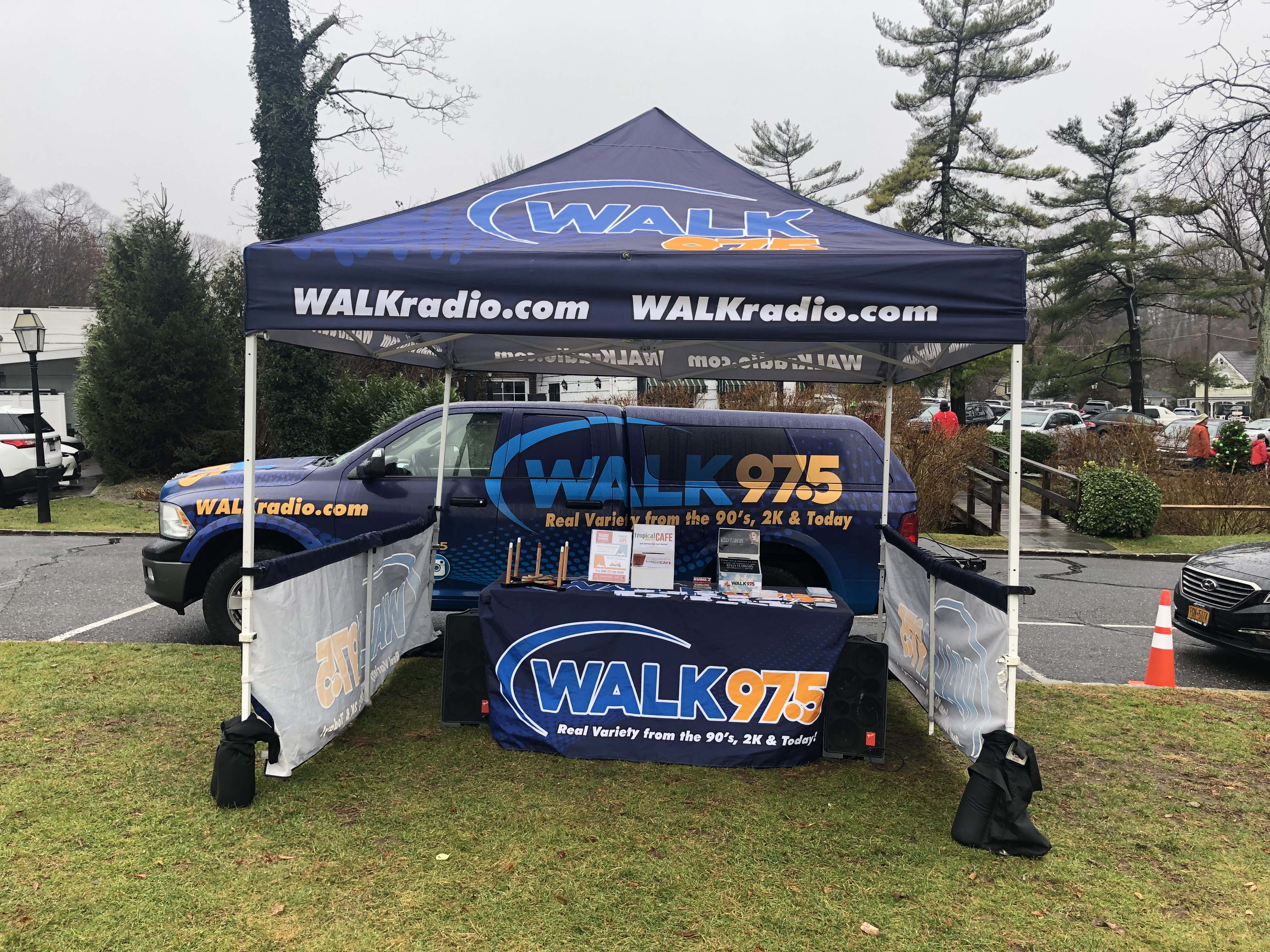 WALK 97.5 at Stony Brooke Village Center