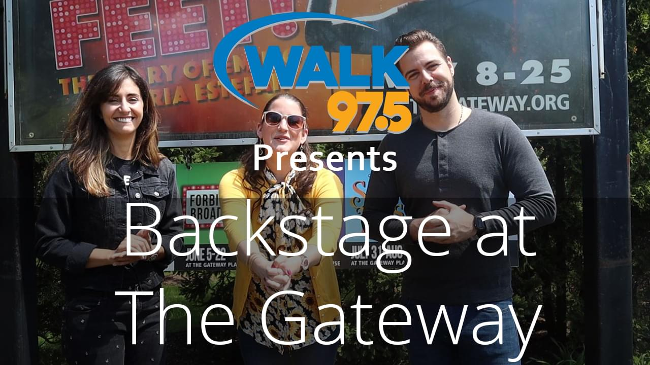 Christina chats with the stars of Get On Your Feet from the Gateway!