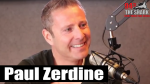 Paul Zerdine talks with Niki in The Studio