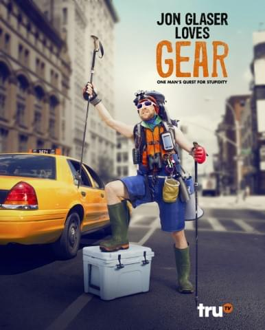Jon Glaser from truTV's Jon Glaser Loves Gear!