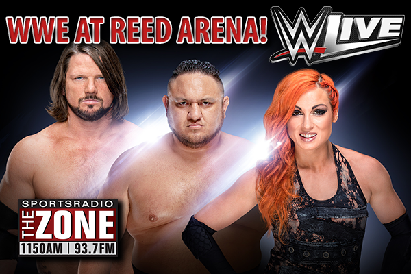 WWE Live at Reed Arena