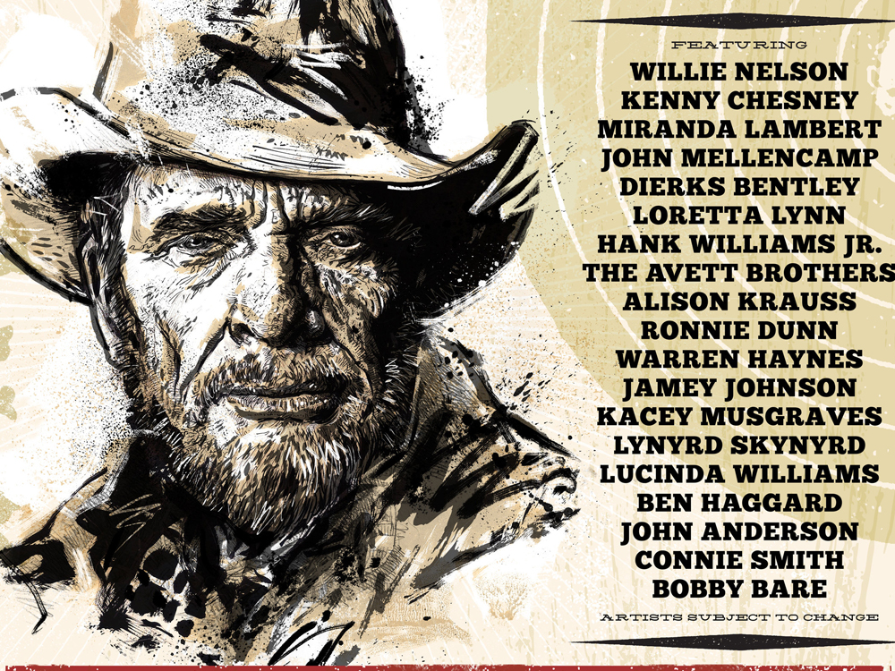 more performers added to the merle haggard tribute concert