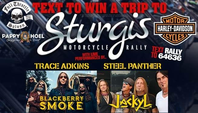 Win a trip to Sturgis