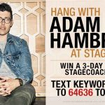 Hang with Adam Hambrick at Stagecoach