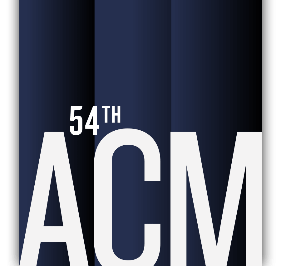 The 54th ACM Awards