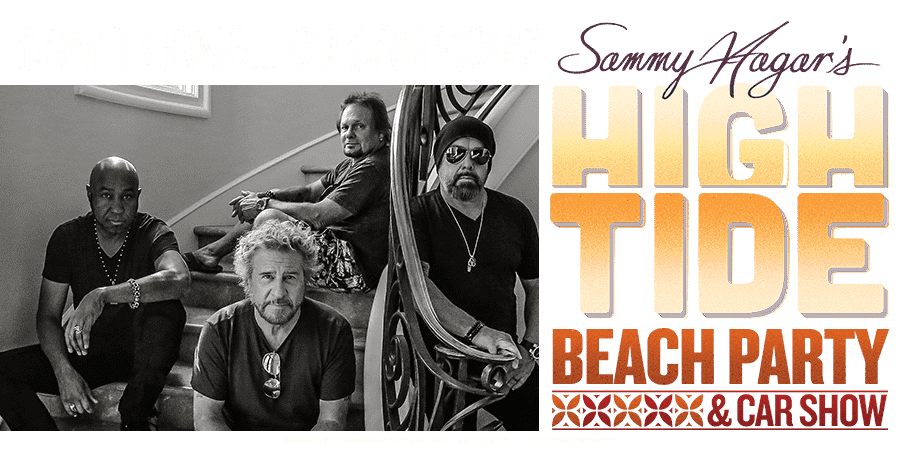 Text to win a trip to hang with Sammy Hagar!
