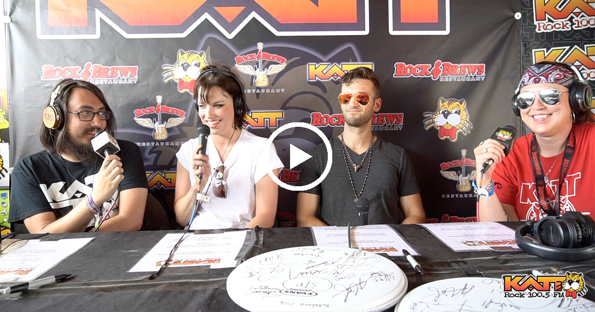 [VIDEO] Cameron & Allison talk to Halestorm