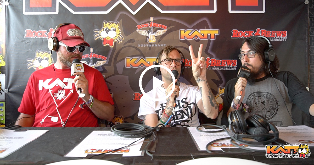 [VIDEO] Jay & Cameron talk to Bert from The Used