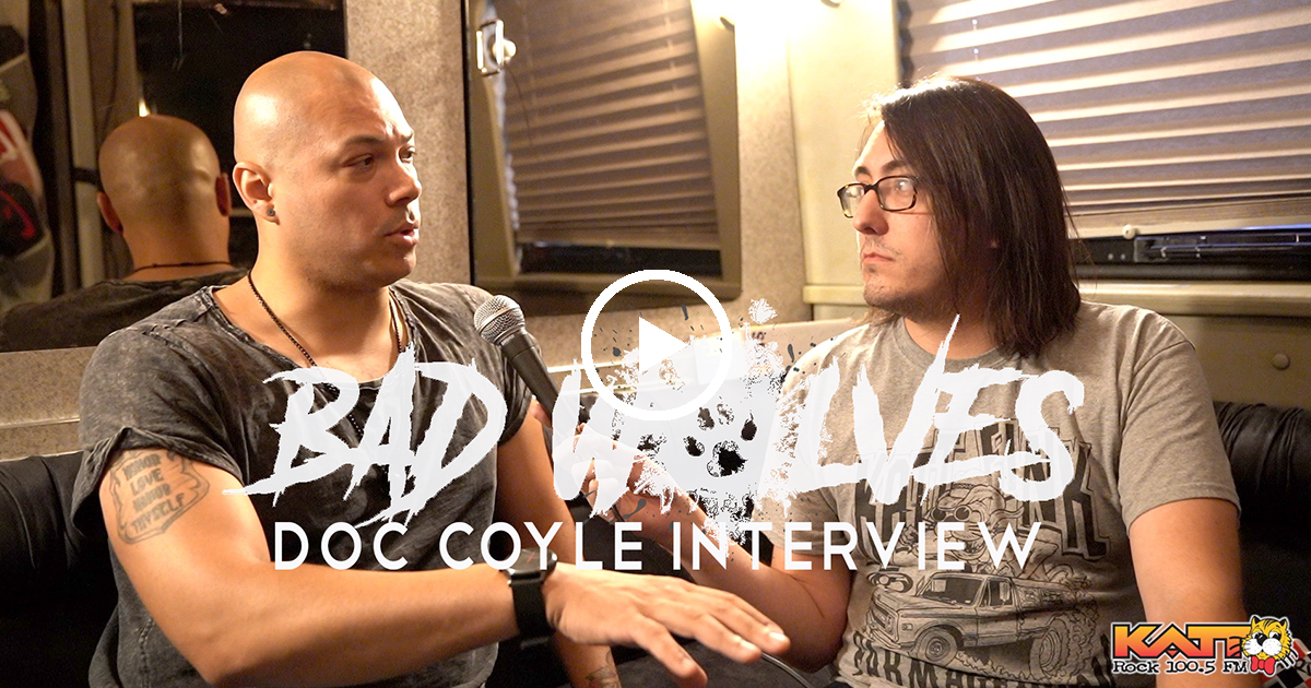 Doc Coyle Talks Bad Wolves & Tommy Vext On Vocal Rest