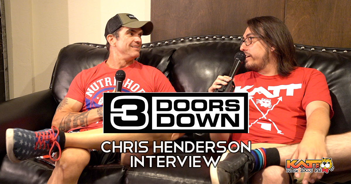 Chris Henderson From 3 Doors Down Interview