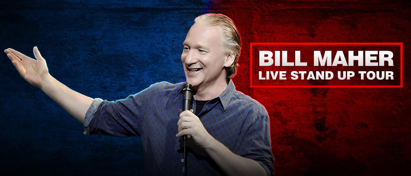Bill Maher Live Stand Up Tour! | Civic Center Music Hall