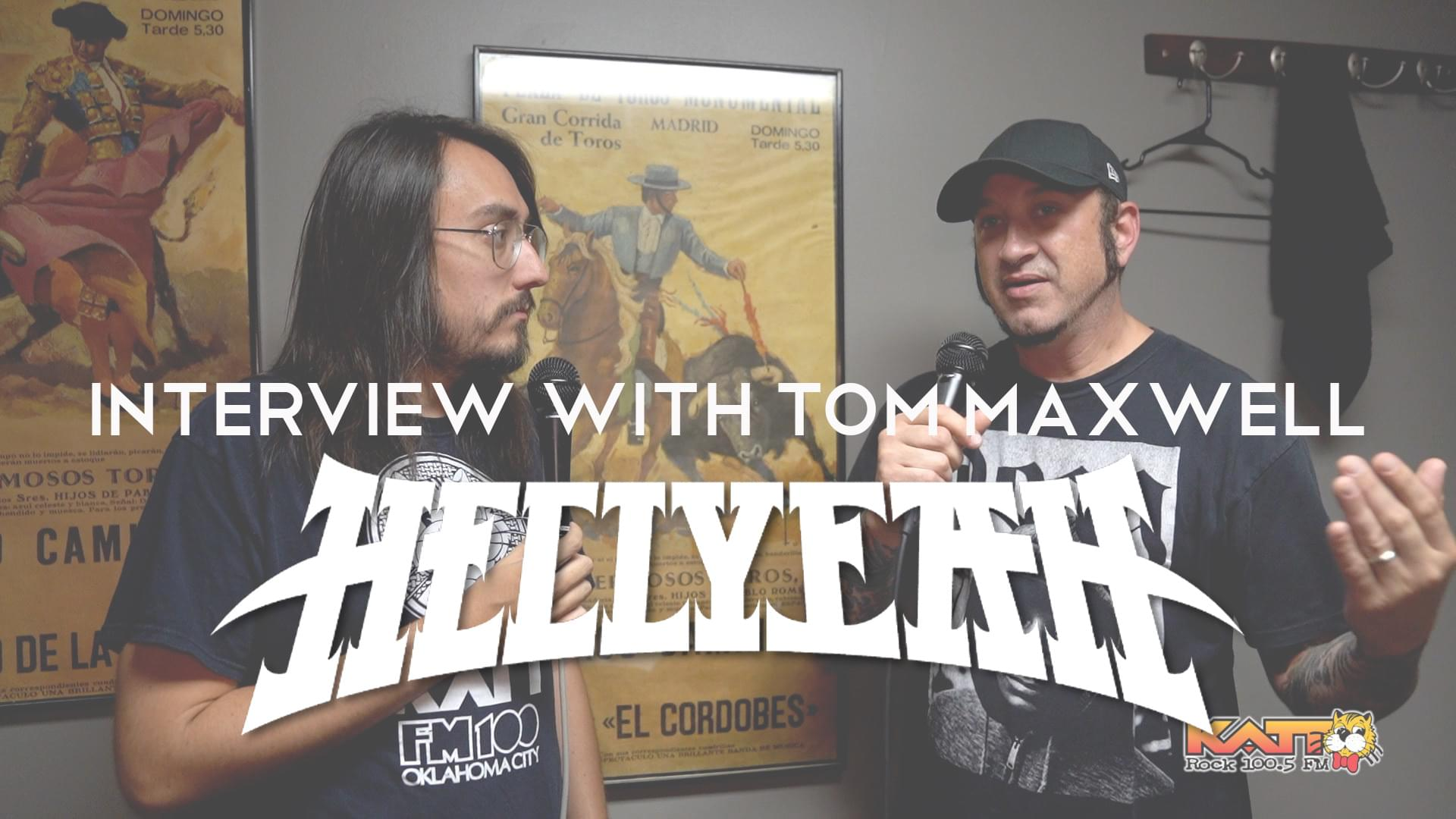 [VIDEO] Cameron talks to Tom Maxwell of HELLYEAH