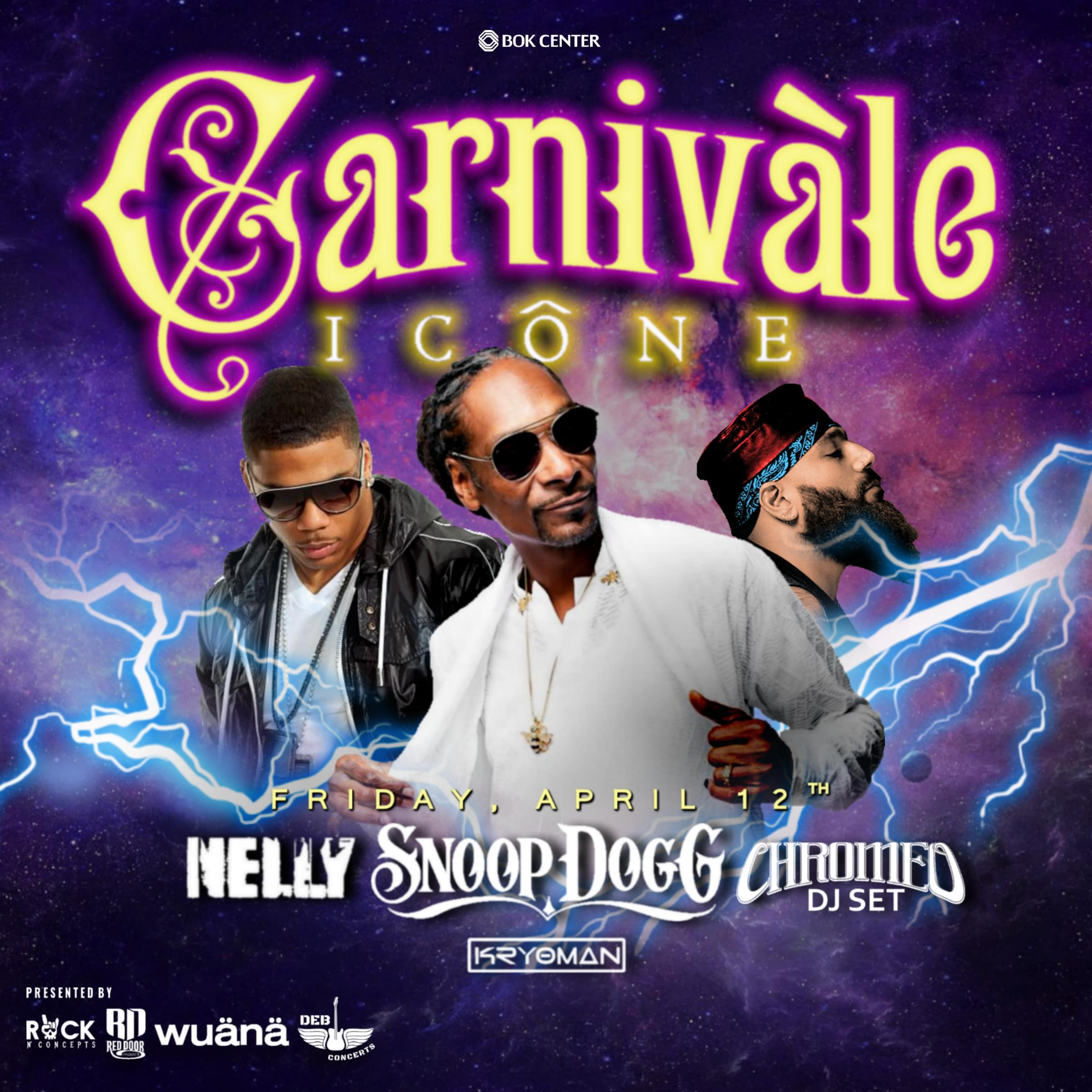 SNOOP DOGG/NELLY LIVE AT THE BOK CENTER 4/12!!!